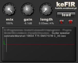 FREE: keFIR Cabinet Impulse Loader | LAPTOPGUITARIST COM
